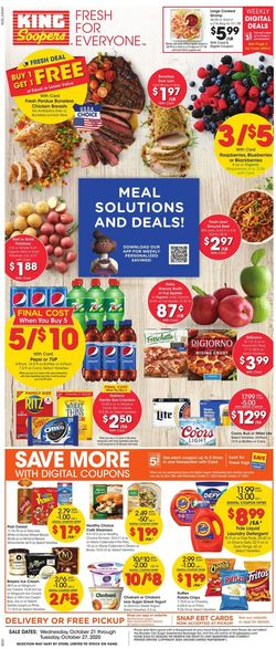 Current weekly ad King Soopers