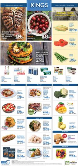 Catalogue Kings Food Markets from 07/31/2020