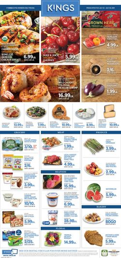 Current weekly ad Kings Food Markets