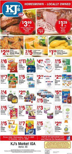 Catalogue KJ´s Market from 07/15/2020