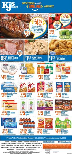 Current weekly ad KJ´s Market