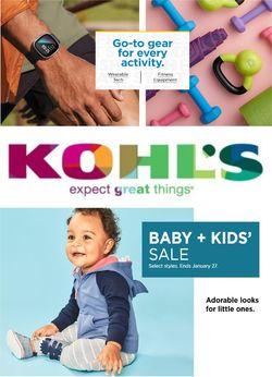 Current weekly ad Kohl's