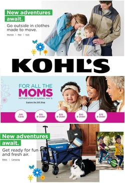Catalogue Kohl's from 04/15/2021