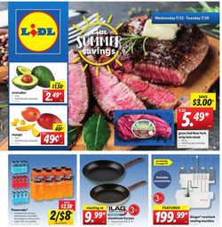 Catalogue Lidl from 07/22/2020