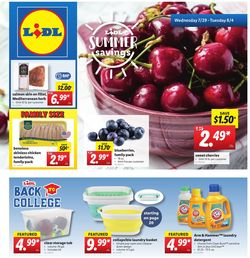 Catalogue Lidl from 07/29/2020