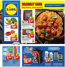Catalogue Lidl from 08/05/2020