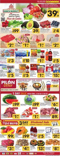 Catalogue Los Altos Ranch Market from 07/29/2020