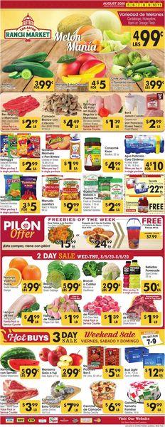 Current weekly ad Los Altos Ranch Market