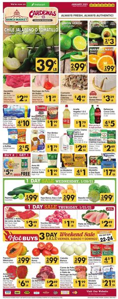 Current weekly ad Los Altos Ranch Market