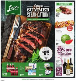 Catalogue Lowes Foods from 06/24/2020