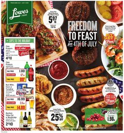 Catalogue Lowes Foods from 07/01/2020