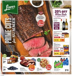 Catalogue Lowes Foods from 08/26/2020