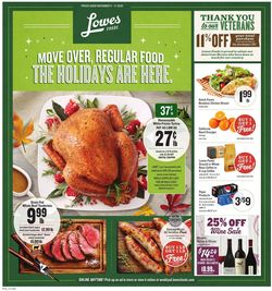 Catalogue Lowes Foods from 11/11/2020