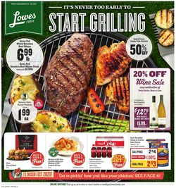 Catalogue Lowes Foods from 03/24/2021