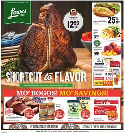 Current weekly ad Lowes Foods