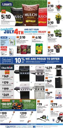 Catalogue Lowe's from 06/25/2020