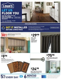 Current weekly ad Lowe's