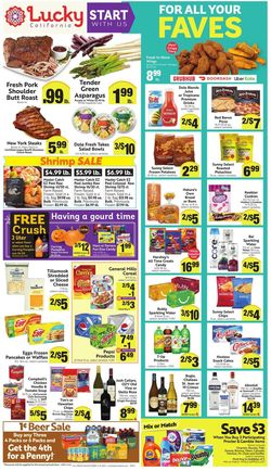 Current weekly ad Lucky Supermarkets