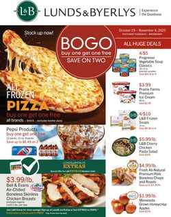 Current weekly ad Lunds & Byerlys