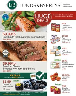 Catalogue Lunds & Byerlys Cyber Monday 2020 from 11/26/2020