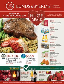 Catalogue Lunds & Byerlys from 02/11/2021