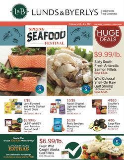 Catalogue Lunds & Byerlys from 02/18/2021