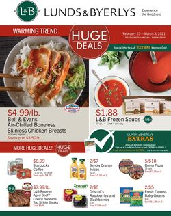 Catalogue Lunds & Byerlys from 02/25/2021