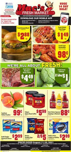 Current weekly ad Mac's Freshmarket