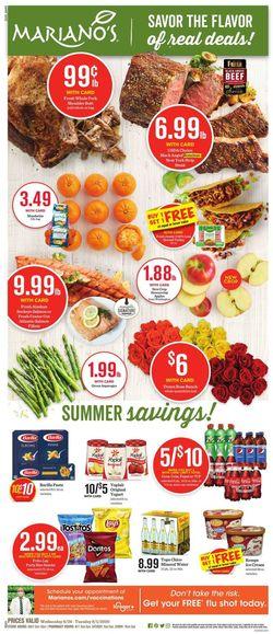 Catalogue Mariano's from 08/26/2020