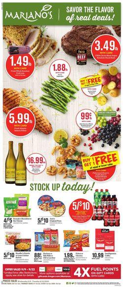 Catalogue Mariano's from 09/09/2020