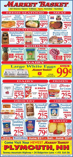 Catalogue Market Basket from 06/21/2020