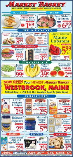 Catalogue Market Basket from 08/30/2020