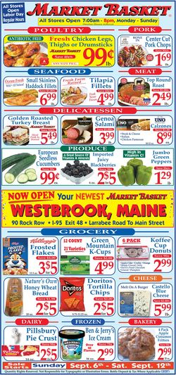 Catalogue Market Basket from 09/06/2020