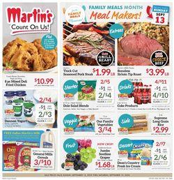 Catalogue Martin's from 09/13/2020