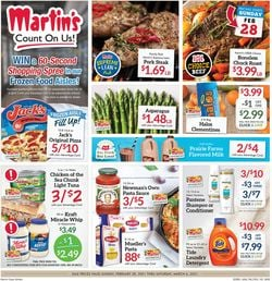 Current weekly ad Martin's