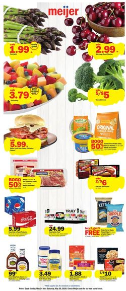Catalogue Meijer from 05/24/2020