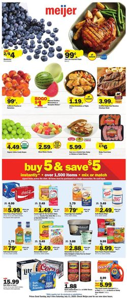 Catalogue Meijer from 07/05/2020