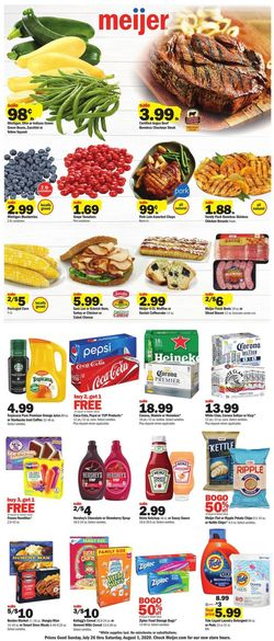Catalogue Meijer from 07/26/2020