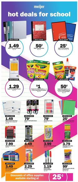 Catalogue Meijer from 08/02/2020