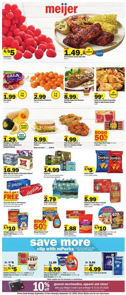 Catalogue Meijer from 09/13/2020