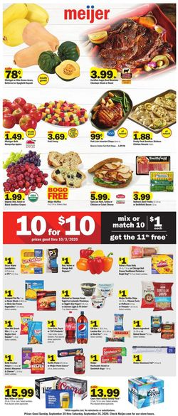 Catalogue Meijer from 09/20/2020