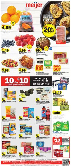 Current weekly ad Meijer