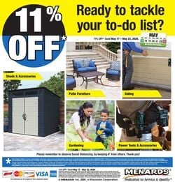 Catalogue Menards from 05/17/2020