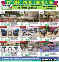 Catalogue Menards from 05/31/2020