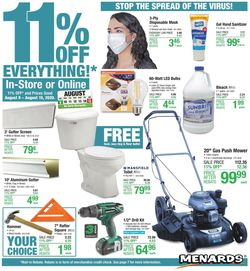 Current weekly ad Menards
