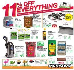 Catalogue Menards from 04/11/2021