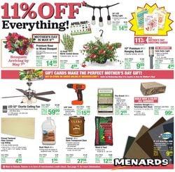 Catalogue Menards from 04/29/2021