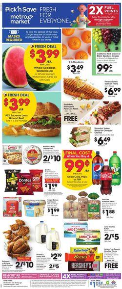 Catalogue Metro Market from 07/29/2020