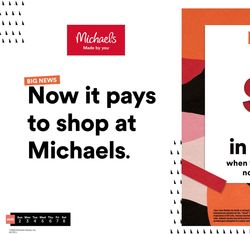 Current weekly ad Michaels