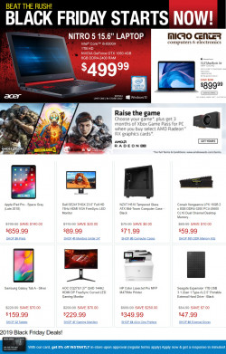 Current weekly ad Micro Center